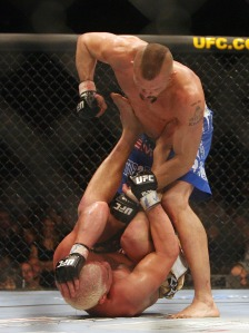 Ultimate Fighting Liddell Ortiz